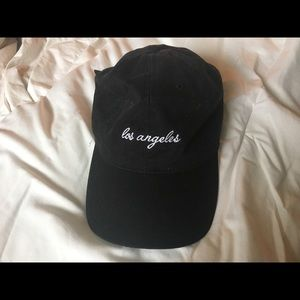 Brandy Melville 'los angeles' dad hat